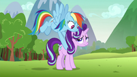 Rainbow sets Starlight on the ground S8E25