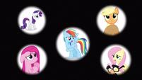 Rarity & Rainbow Dash destiny S3E13