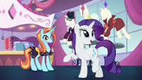 Rarity -it was nothing- S5E15