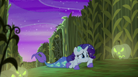 Rarity helpless on the ground S5E21