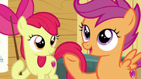 Scootaloo asks Gabby what she's good at S6E19