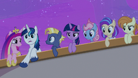 Shining Armor impressed by Iron Will's preparedness S7E22