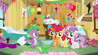 Spike and the messy CMC S03E11
