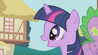 "Twilight ""is Applejack all set?"" S1E04"