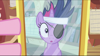 Twilight with eyepatch looking at mirror S2E20