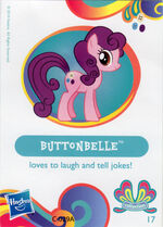 Wave 11 Buttonbelle collector card
