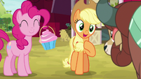 "Applejack ""Ponyville dance tradition"" S9E7"
