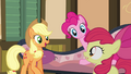 "Applejack calls Bloom the ""playful one"" S4E09.png"