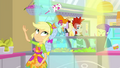 Applejack flipping one last smoothie SS9.png