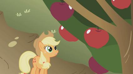 Applejack maçãs T01E04