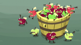 Apples in the bucket coming to life S9E23