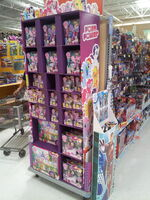 Butler, PA Wal Mart poster bin and toy display shelves