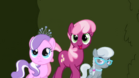 Cheerilee, Diamond Tiara and Silver Spoon S2E01