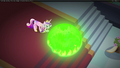 Chrysalis makes Twilight sink into the caverns S2E25.png