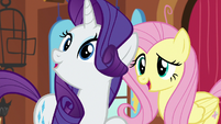 "Fluttershy ""is it you, Rarity?"" S7E5"