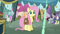 Fluttershy staring S2E19