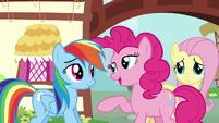 Pinkie Pie --that makes more sense-- S6E11