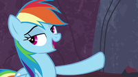 Rainbow Dash accepts Garble's challenge S7E25