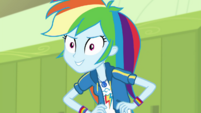 Rainbow Dash continues being a braggart EGDS4