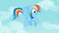 Rainbow Dash hears cries S2E10