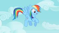 Rainbow Dash hears cries S2E10