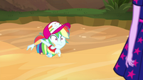 Rainbow Dash sinks further into quicksand EGSB