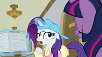 "Rarity ""this is the scam, isn't it?"" S8E16"
