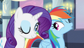 Rarity & Rainbow Dash wink S2E25.png