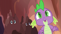 "Spike ""the only dragon to make it this far!"" S6E5"