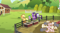 Spike --that must've been super relaxing!-- S6E10