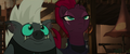 Tempest and Grubber look up at Mori MLPTM.png