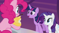 Twilight Sparkle approves of Pinkie's idea S9E14