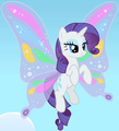 Winged Rarity ID S1E16