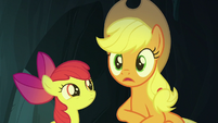 "Applejack ""down the side of the volcano"" S7E16"