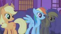 Applejack and Rainbow -hate you-- S1E06