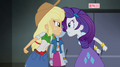 Applejack and Rarity at odds again EG2.png