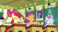 Class of foals laughing at Cheerilee S6E15