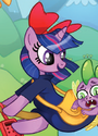 Comic issue 30 Twilight as Kiki