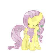 Crystal fluttershy by pony vectors-d5lme04