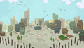 Desert village in Pinkie Pie's story S7E11.png
