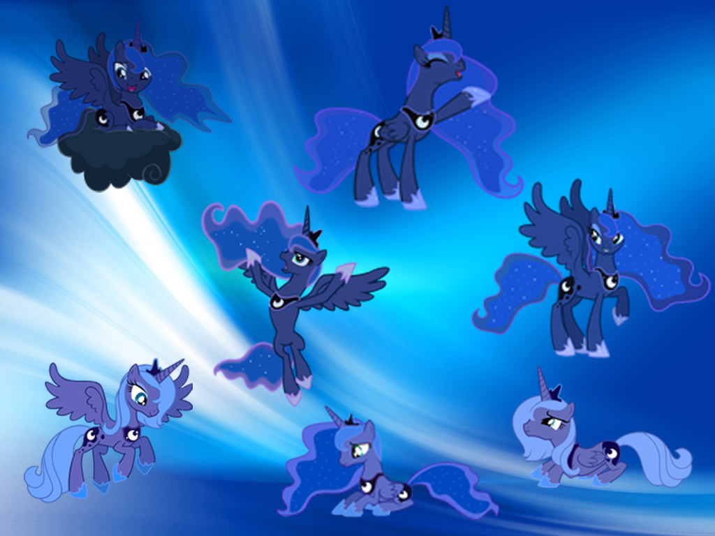 Image  FANMADE Princess Lunapng  My Little Pony Friendship is