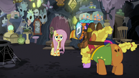 "Fluttershy ""all those bayou ponies long ago!"" S7E20"