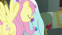 Fluttershy places jewel in designated slot S7E2