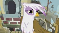 Gilda getting teary-eyed S5E8