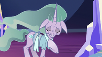 "Mistmane ""protect the realm in our absence"" S7E26"