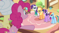 Pinkie Pie 'all eyes glued directly on you!' S4E14