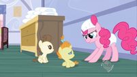 Pinkie Pie in diapers S2E13