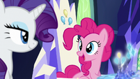 Pinkie and Rarity have a friendship mission S6E12