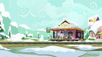 Ponyville train station MLPBGE