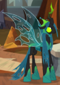 Queen Chrysalis powered up ID S9E24